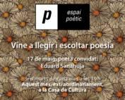 Espai poètic: Eduard Sanahuja