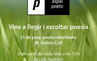 Espai poètic: M. Dolors Coll