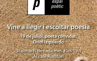 Espai poètic: Oriol Izquierdo