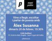 Espai poètic: Àlex Susanna
