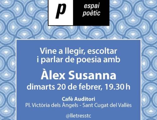 Espai poètic – Àlex Susanna