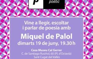 Espai poètic: Miquel de Palol