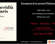 Presentació del llibre El meridià de París