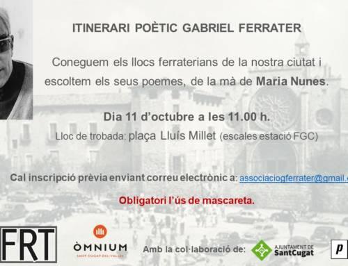 Itinerari Poètic Gabriel Ferrater