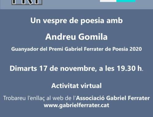 Espai Poètic amb Andreu Gomila (virtual)