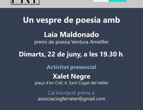 Un vespre de poesia amb Laia Maldonado